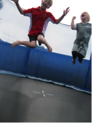 Trampoline jumping has many helth benefits
