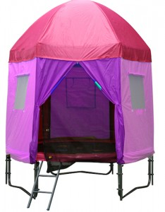 princess trampoline tent