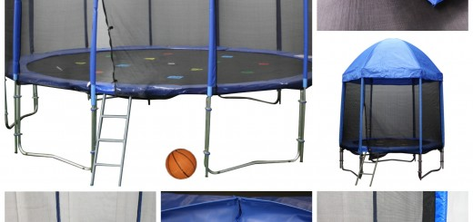 Blue Colour Scheme Trampolines