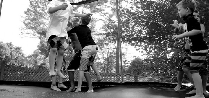 More Trampoline Moves and Tricks