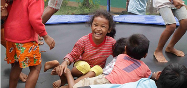 Oz Trampolines Charity Work