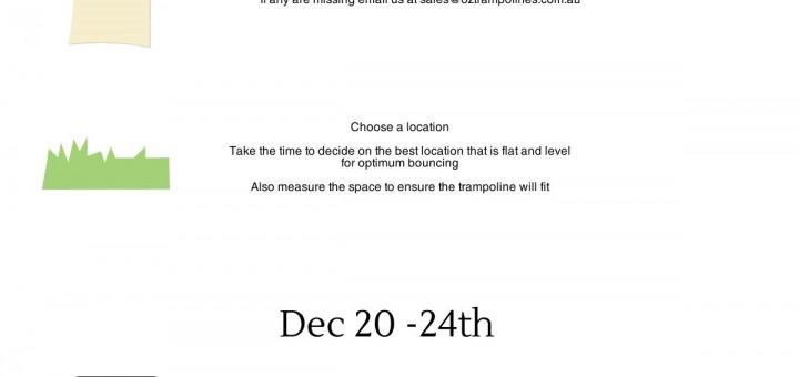 Christmas Setup tips