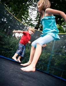 75 Fun Ways to Use Your Trampoline