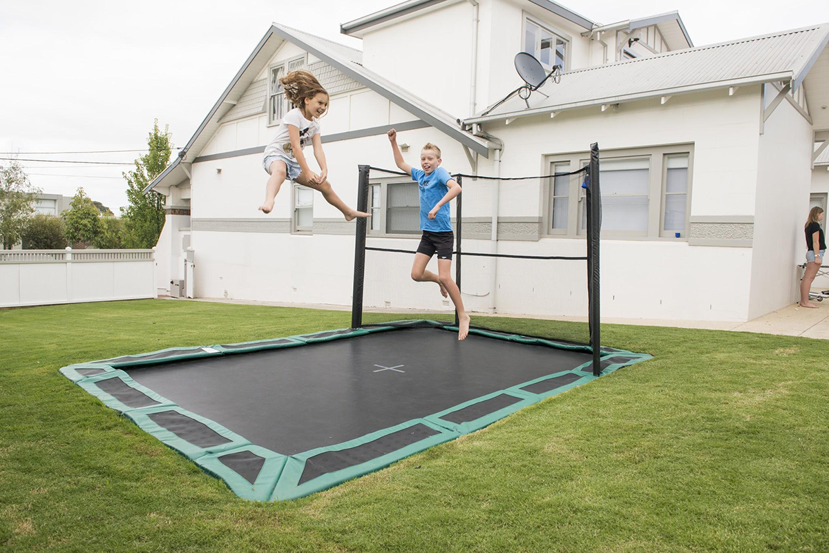 Oz Trampolines - Customers Love Their Oz Trampoline