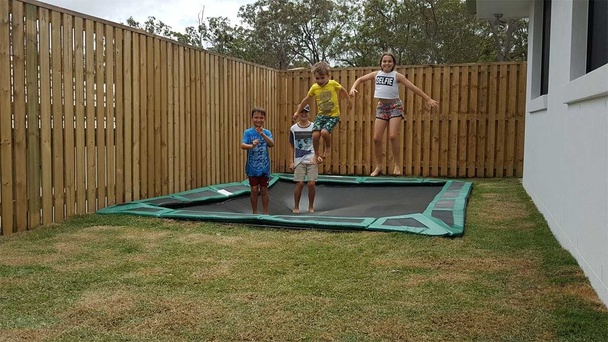 Cool Installations for Your In-Ground Trampoline (10)
