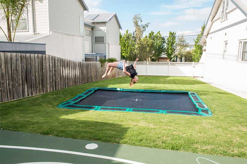 Cool Installations for Your In-Ground Trampoline (2)
