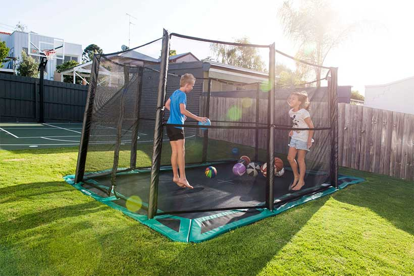 Cool Installations for Your In-Ground Trampoline (3)