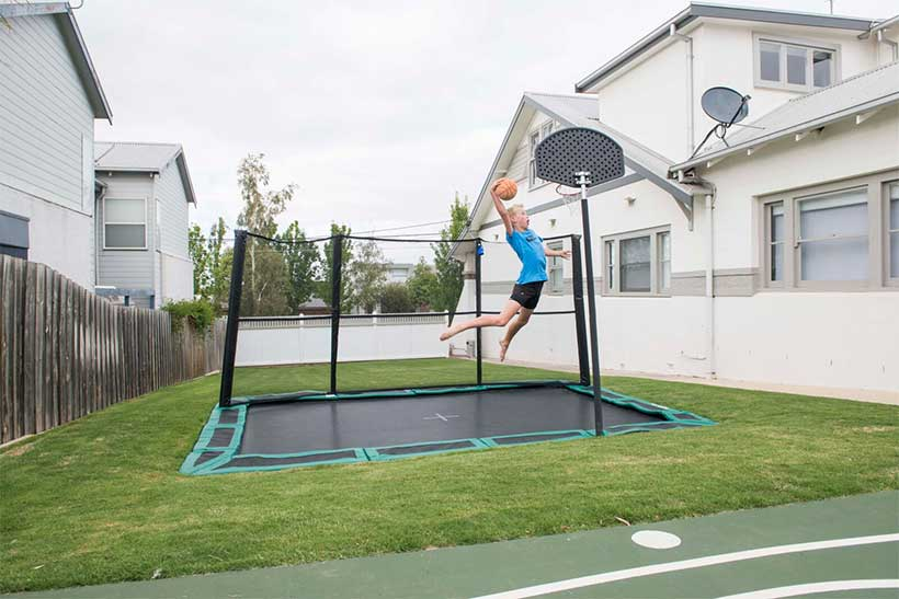 Cool Installations for Your In-Ground Trampoline (5)