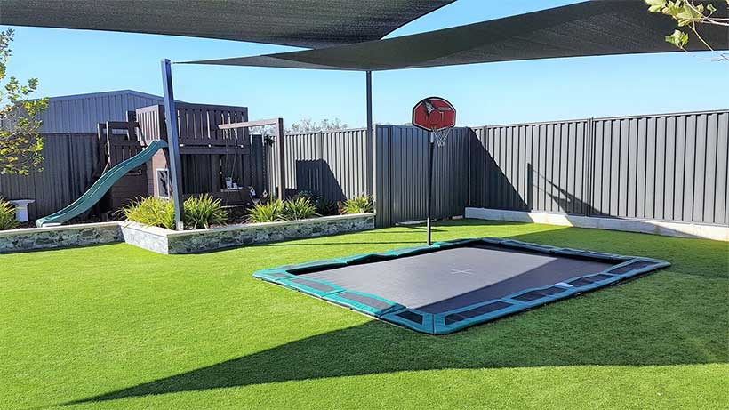 Cool Installations for Your In-Ground Trampoline (7)