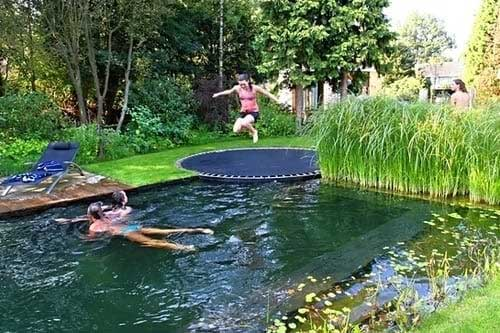 Cool Installations for Your In-Ground Trampoline (9)