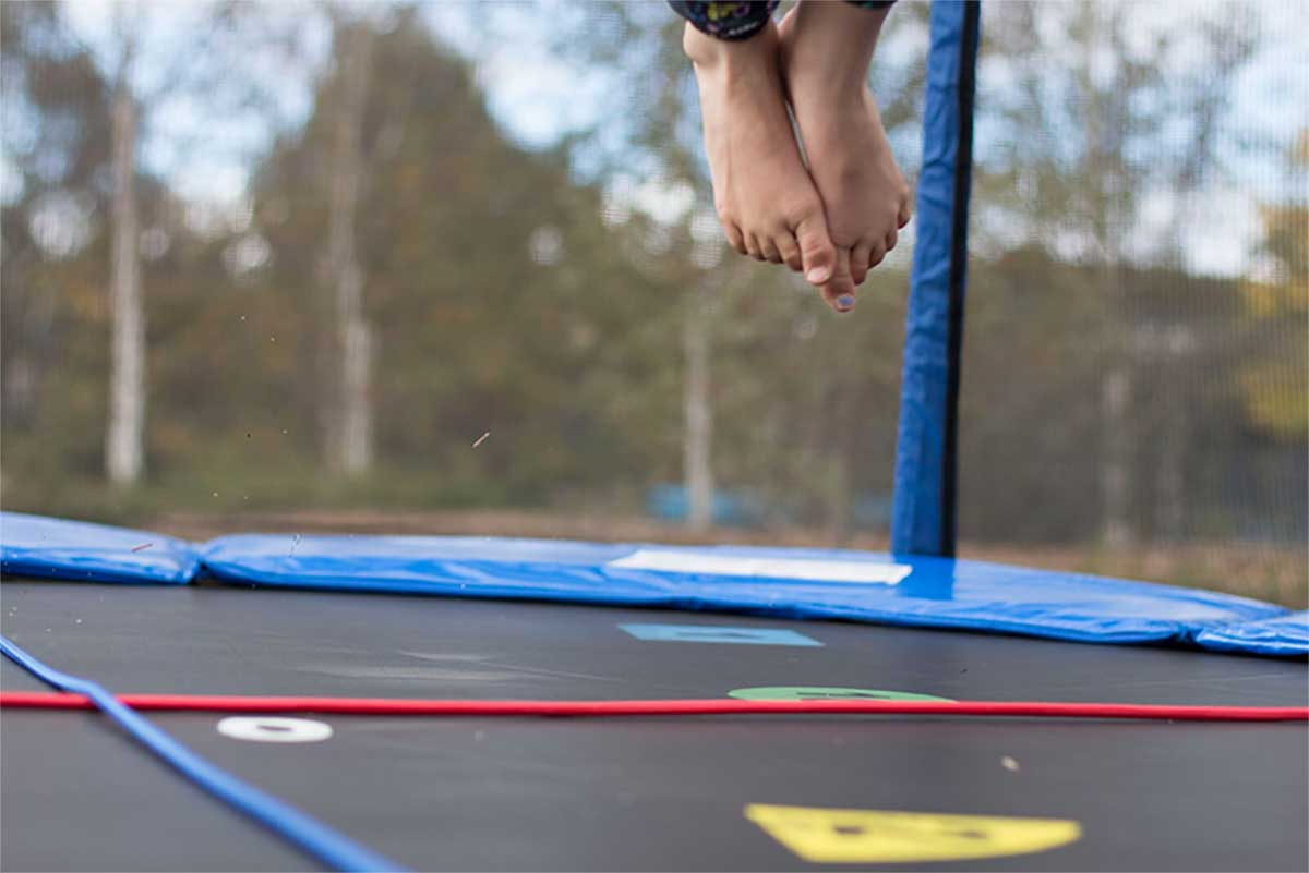 Oz Trampolines - Muscles You Use Jumping Trampoline