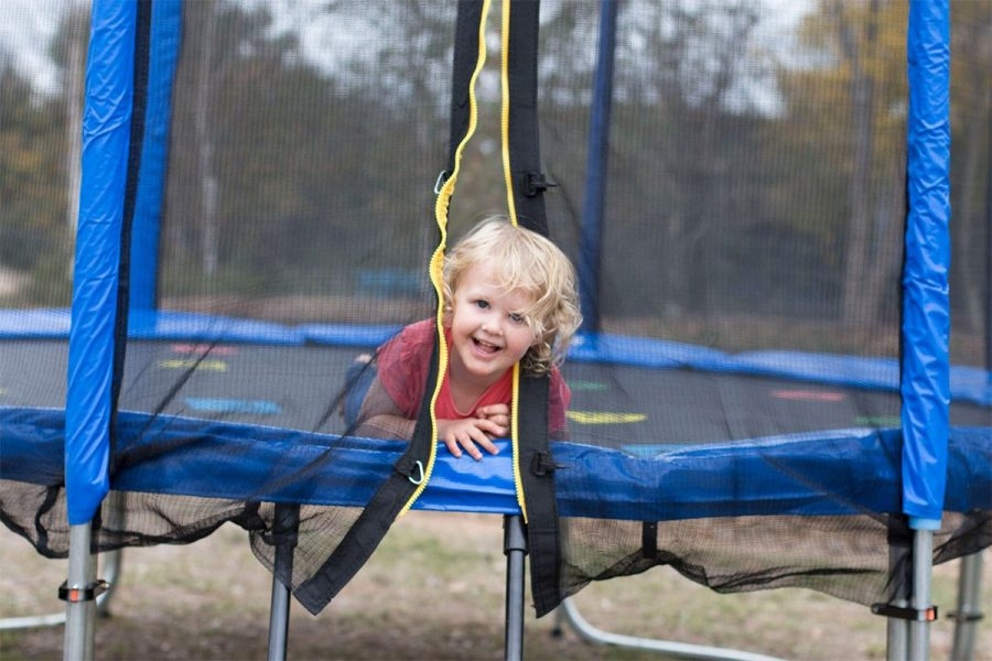 Oz Trampolines - Ensure your Child's Safety